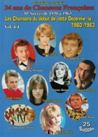 34 ans de chansons françaises - 1960 - 1963